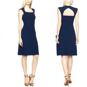 Ralph Lauren BL Navy Cutout Dress